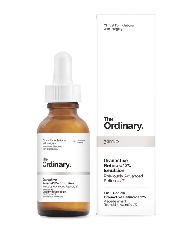 siero antirughe al retinolo Th Ordinary Granactive Retinoid 2% emulsion