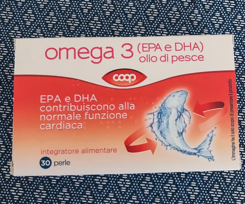 integratore Omega 3 marchio Coop